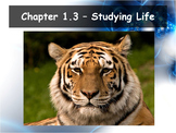 Biology - (1.3 Studying Life Powerpoint & Guided Notes)