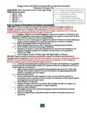Biology 2 Outline with NGSS standards