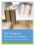 Biology! 200+ Paragraph Prompts