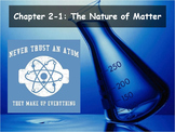 Biology - (2.1 The Nature of Matter Powerpoint and Guided Notes)