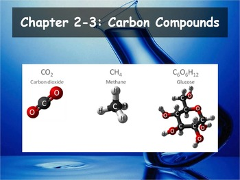 Biology - (2.3 Carbon Compounds Powerpoint and Guided Notes)