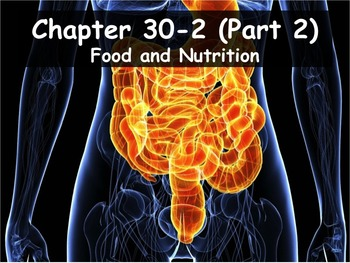 Biology - 30.2 (Part 2) Food and Nutrition Powerpoint and