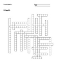 Biology #31 - Birds and Reptiles - Crossword Puzzle