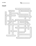 Biology #34 - Human Body - Crossword Puzzle
