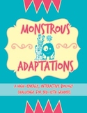 Monstrous Adaptations! A Biological Adaptations Challenge