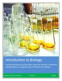 Biology! An Introduction to Biology: Worksheets and Laboratories!