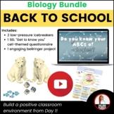 Biology Back-to-School Bundle