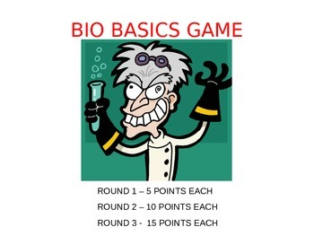 Biology Basics Game