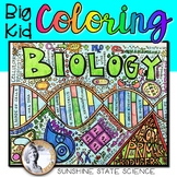 Big Kid Biology Coloring Pages