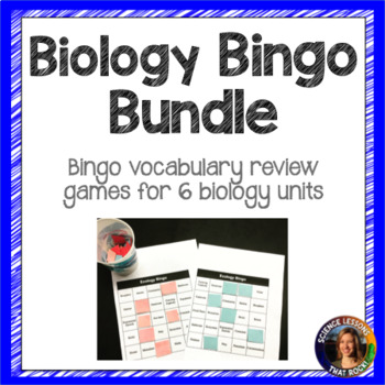 Biology Bingo Bundle