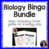 Biology Bingo Vocabulary Review Game Bundle
