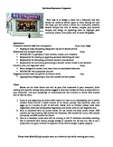 Biology: Biochemistry Nutritional Menu Assignment