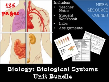 Biology - Biological Systems Unit Bundle