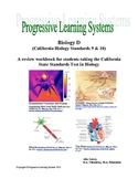 Biology Book Four: A review workbook for the California St