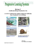 Biology Book Three: A review workbook for the California S