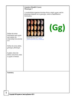 Biology Book Two: A review workbook for the California State Standards