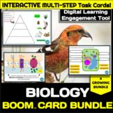 Biology Boom Cards GROWING Bundle w/ BONUS - Digital Task Cards