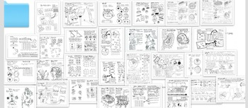 Biology Bundle: Everything, but the kitchen sink and biomolecules whole sheets