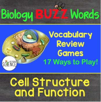 Biology Buzz Words: Cell Structure and Function and Transp