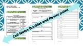 Biology Cells PowerPoint and Student Work Booklet