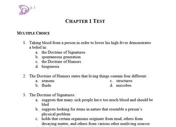 Biology Chapter 1