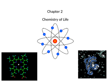 Biology Chapter 2 Chemistry of Life Notes and Response Card Questions