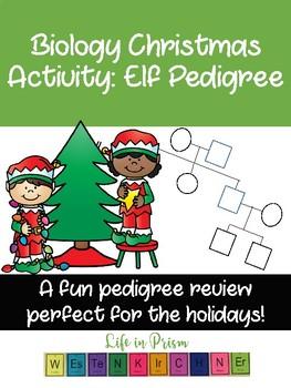 Biology Christmas Activity- Elf Pedigree
