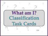 Biology Classification Task Cards/Review Cards