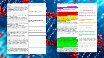 Close & Critical Readings: Biochemistry (Biology)