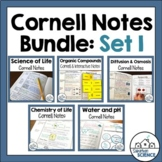 Biology Cornell Notes Bundle - Basic Principles of Biology
