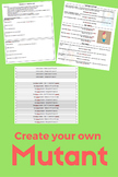 Biology - Create your own mutant with DNA sequences and mutations