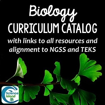 Biology Curriculum Catalog with Standards Alignment