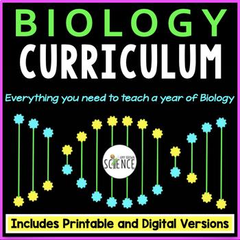 Biology Curriculum Full Year Bundle
