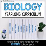 Biology Curriculum - Full Year BUNDLE