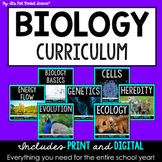 Biology Curriculum - FULL YEAR Bundle