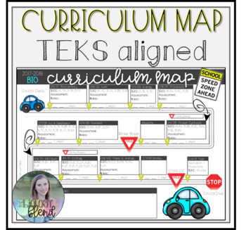 Biology Curriculum Map: TEKS Aligned Yearly Schedule