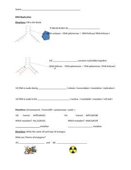 Biology: DNA (Visually Adapted for ELL/ESL) Summative Exam