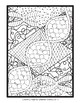 Biology: DNA Zen Coloring Page; Cells, Nucleus, DNA