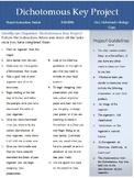 Biology Dichotomous Key Project Instructions