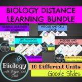 Biology Distance Learning Bundle