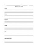 Biology Do-Now Sheet