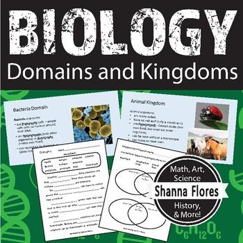 Biology: Domains & Kingdoms: Classify Living Organism; 3rd 4th 5th & 6th grade