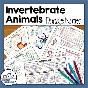 Biology Doodle Notes- Invertebrate Animals