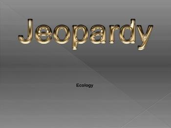 Biology - ECOLOGY Jeopardy Game