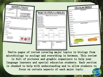 Biology STAAR EOC Review by Planet Plan-It   Teachers Pay ...