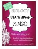 Biology EOC Review - USA Test Prep BINGO Board!