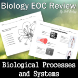 Biology STAAR Review - Biological Processes & Systems