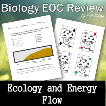 Biology Eoc Review Ecology And Energy Flow By Drh Biology Tpt