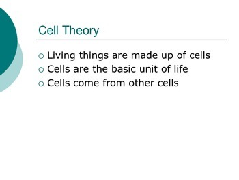Biology EOCT Milestone Test Review Powerpoint