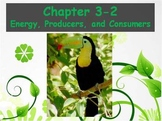Biology - (3.2 Energy, Producers, and Consumers Powerpoint and Guided Notes)